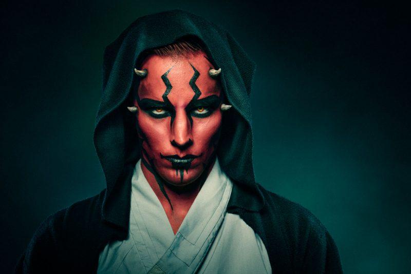Tähtien sota Sith muotokuva, Portrait of the Sith lord