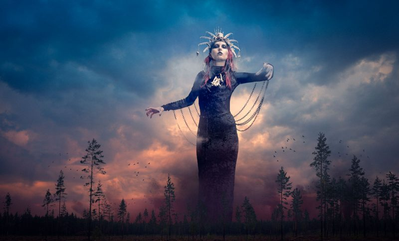 Louhi, the Pohjolan akka, Kalevala, the witch of the north