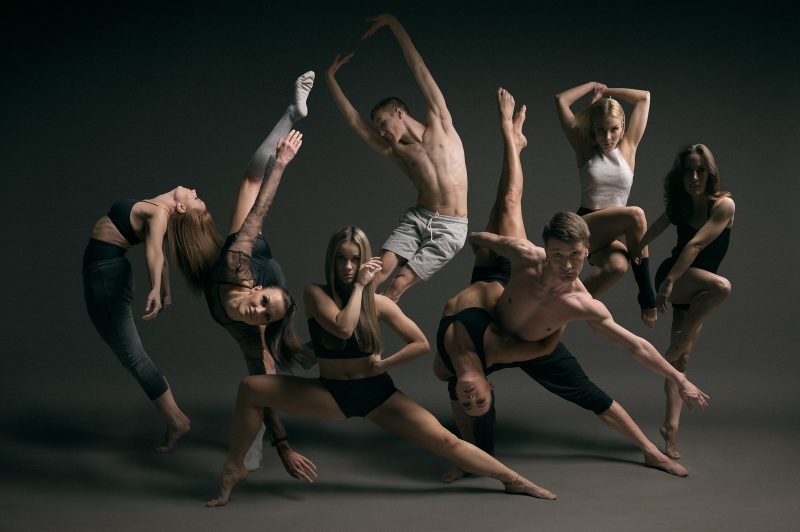 Tanssijoiden ryhmäkuva