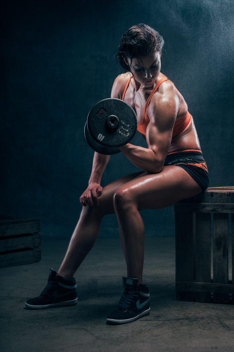 fitnesskuva, female fitness portrait IFBB