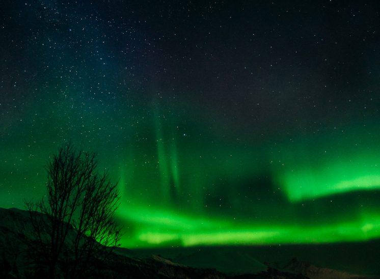 Northern lights in norway revontuli