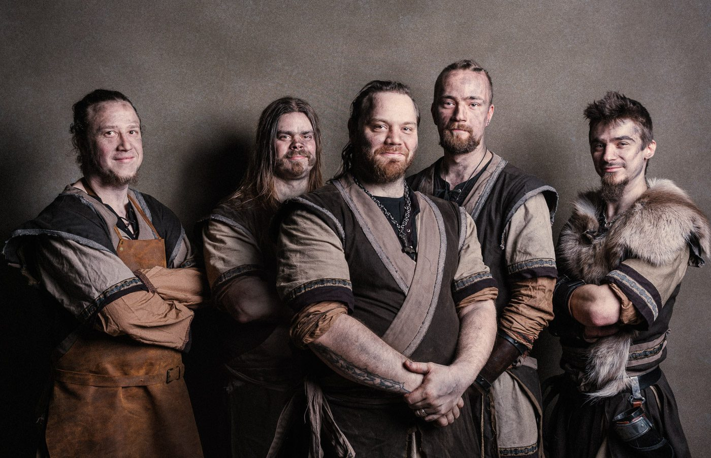 Viking carpenters of Puustikki