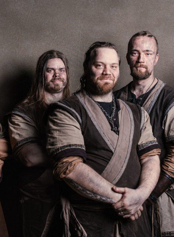 Viking carpenters of Puustikki