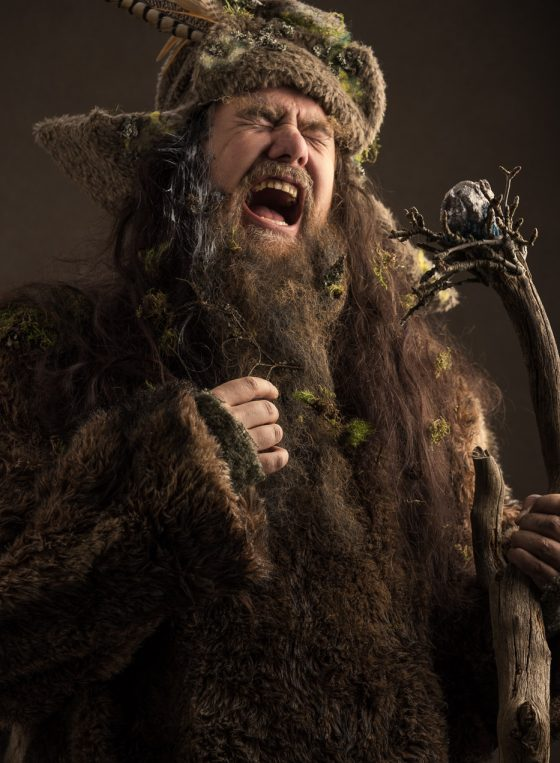 radagast the brown photoshoot