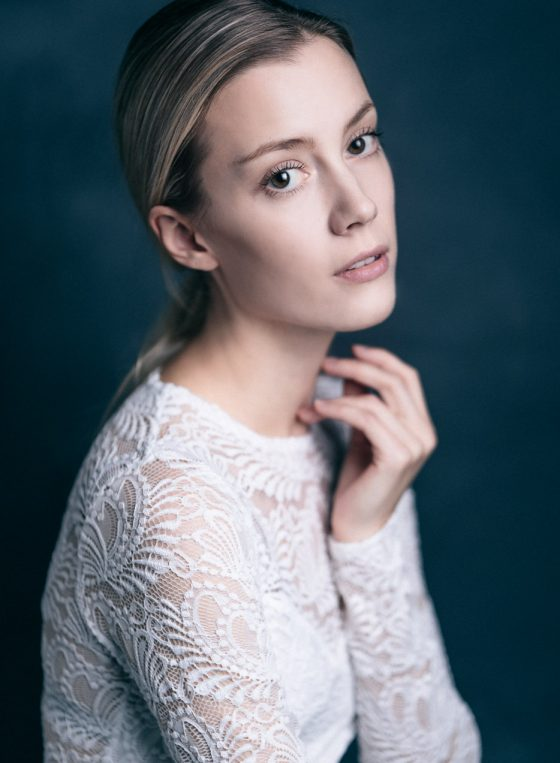 portrait of a scandinavian female