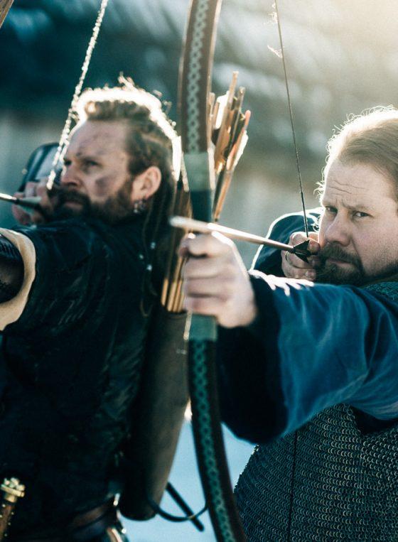Rosala viikinkikeskus juosiammunta archery