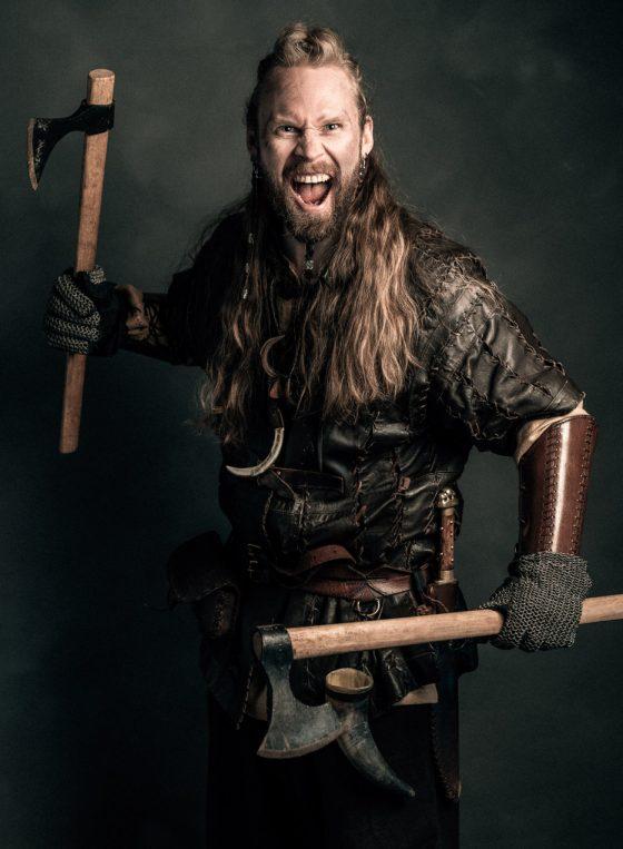 Rosala viikinkikeskus viikinkisoturi