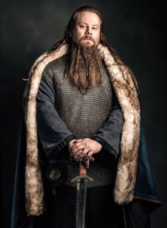 Rosala viikinkikeskus viikinkipäällikkö chieftain