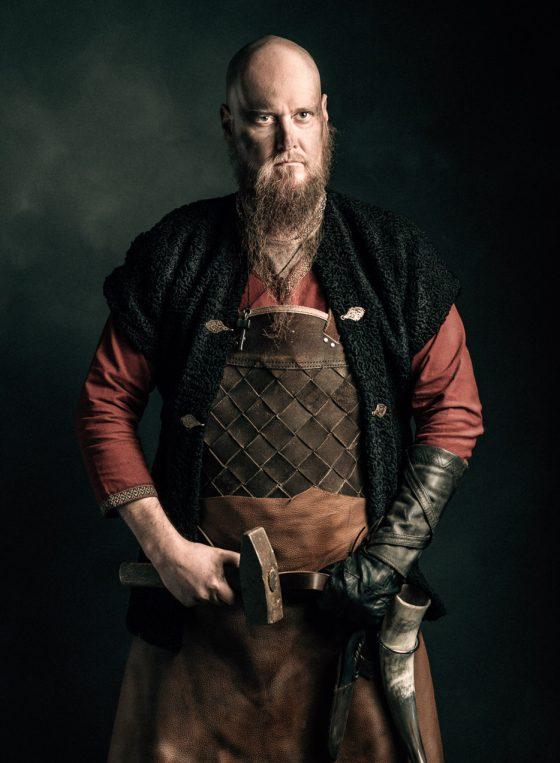 Rosala viikinkikeskus viikinkiseppä blacksmith
