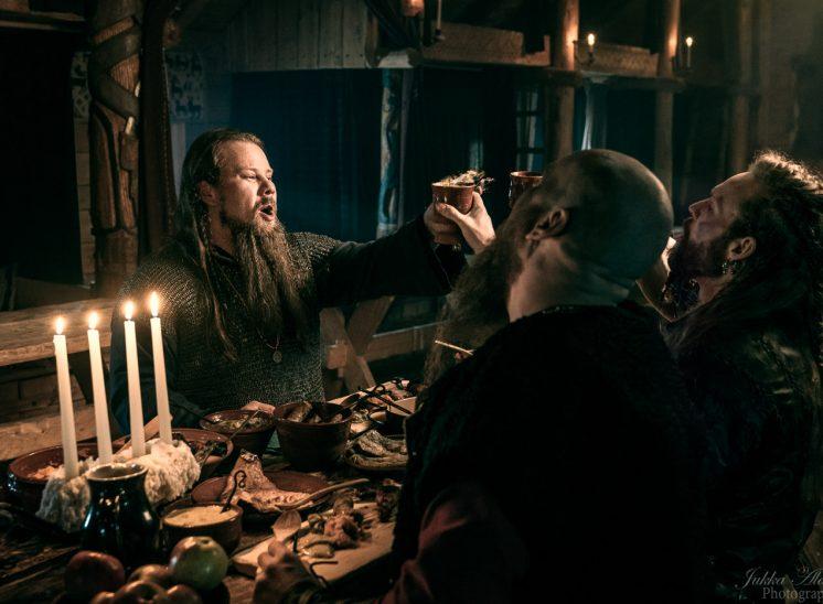Rosala viikinkikeskus päivällinen