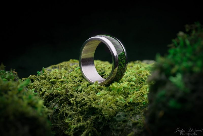 green dragon ring