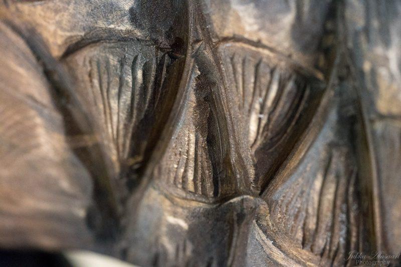 viking furniture details dragon's teeth
