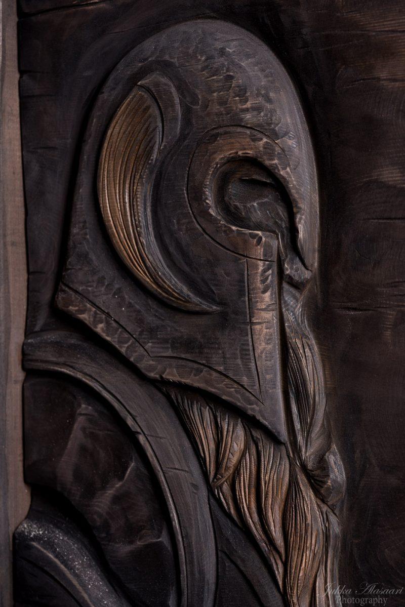 viking furniture details viking warrior puustikki
