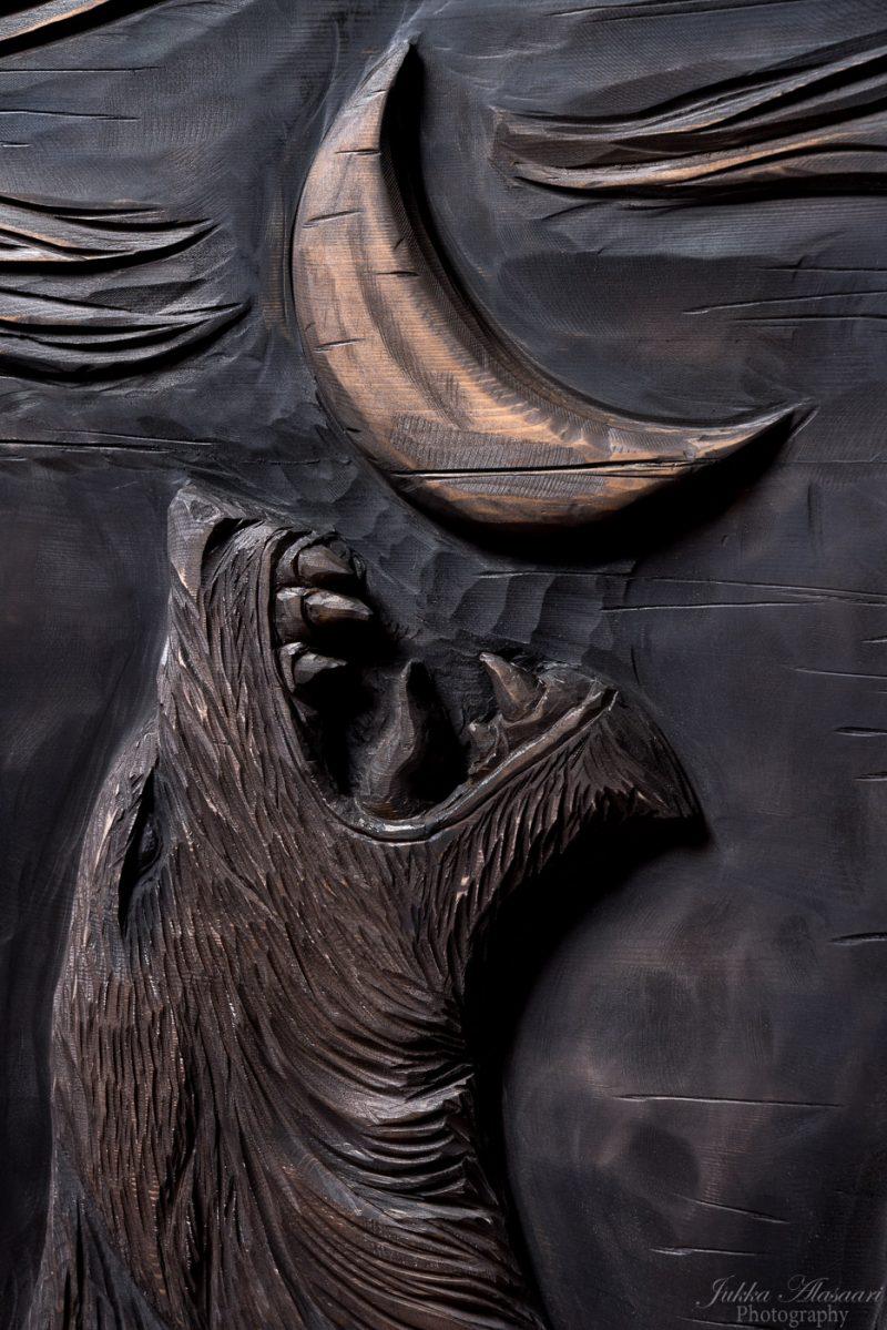 viking furniture details wolf puustikki