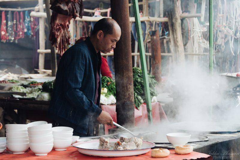 silk road china animal market