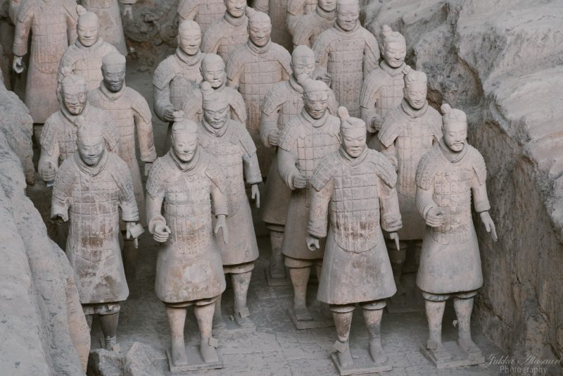 silk road china terracotta soldiers