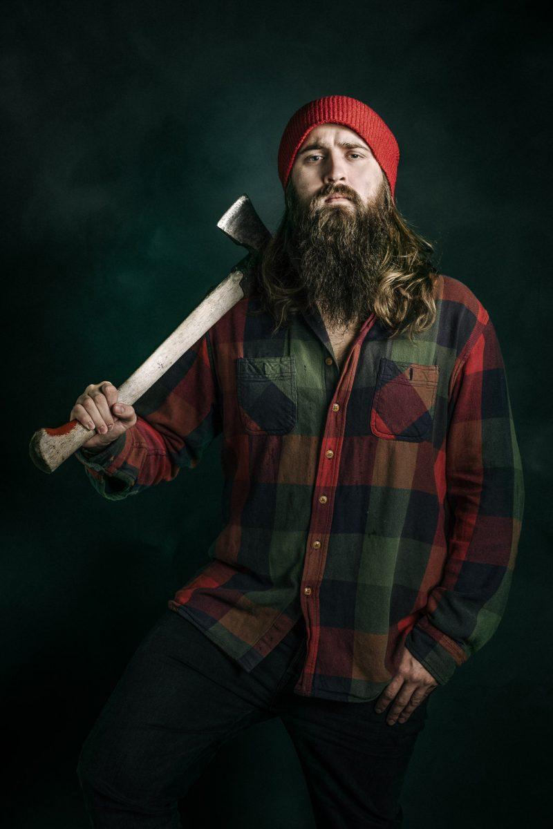 lumberjack portrait kirvesmies muotokuva