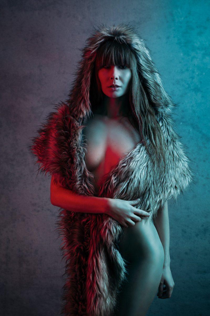 boudoir boss wolf lady